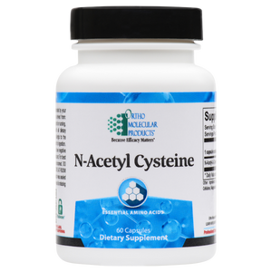 N-Acetyl Cysteine 60 Capsules Ortho Molecular Products