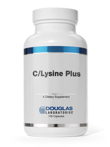 C/LYSINE PLUS 120 Capsules Douglas Laboratories