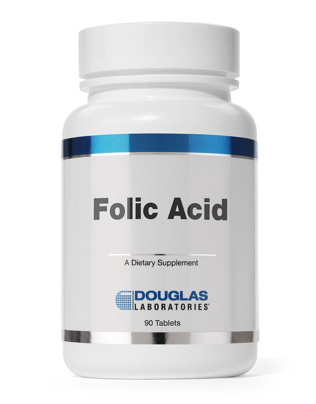 FOLIC ACID 400 MCG 90 Tablets Douglas Laboratories