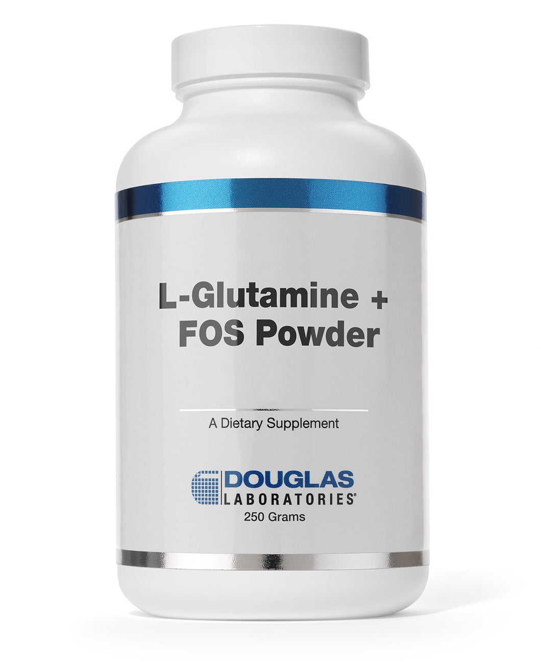 L-GLUTAMINE + FOS POWDER 250 Grams Douglas Laboratories