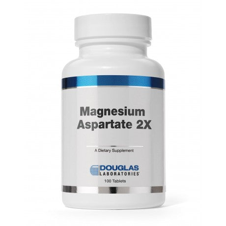 Magnesium Aspartate 2X 100 Tablet Douglas Laboratories