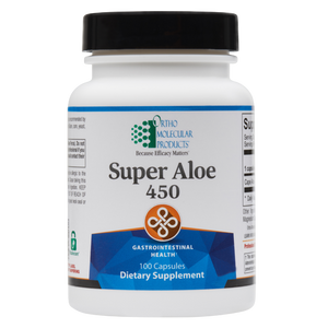 Super Aloe 450 100 Capsules Ortho Molecular Products