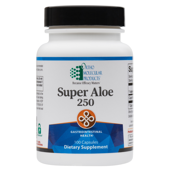 Super Aloe 250 100 Capsules Ortho Molecular Products