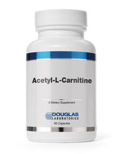 ACETYL L-CARNITINE 500mg 60 Capsules Douglas Laboratories