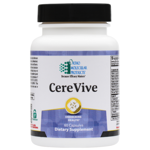 CereVive 60 Capsules Ortho Molecular Products