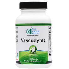 Load image into Gallery viewer, Vascuzyme 180 Tablets Ortho Molecular Products