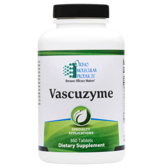 Vascuzyme 360 Ortho Molecular Products Tablets