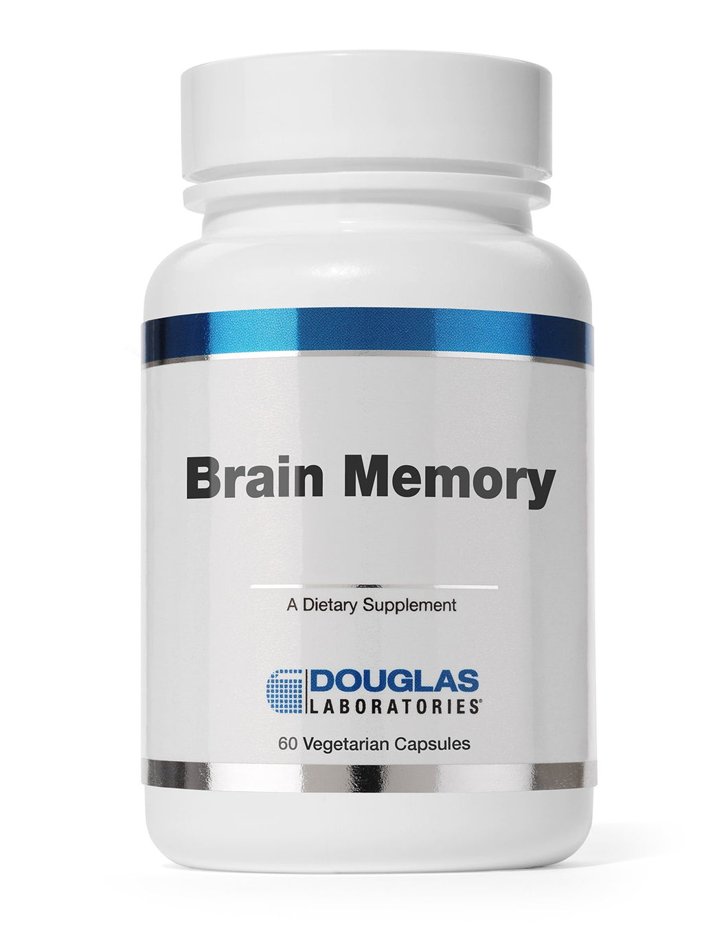BRAIN MEMORY 60 Vegetarian Capsules Douglas Laboratories