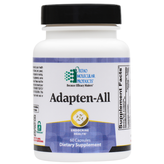 Adapten-All 60 Capsules Ortho Molecular Products