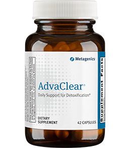AdvaClear 126 Capsules Metagenics