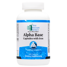 Load image into Gallery viewer, Alpha Base Capsules w/ Iron 240 Capsules Ortho Molecular Products