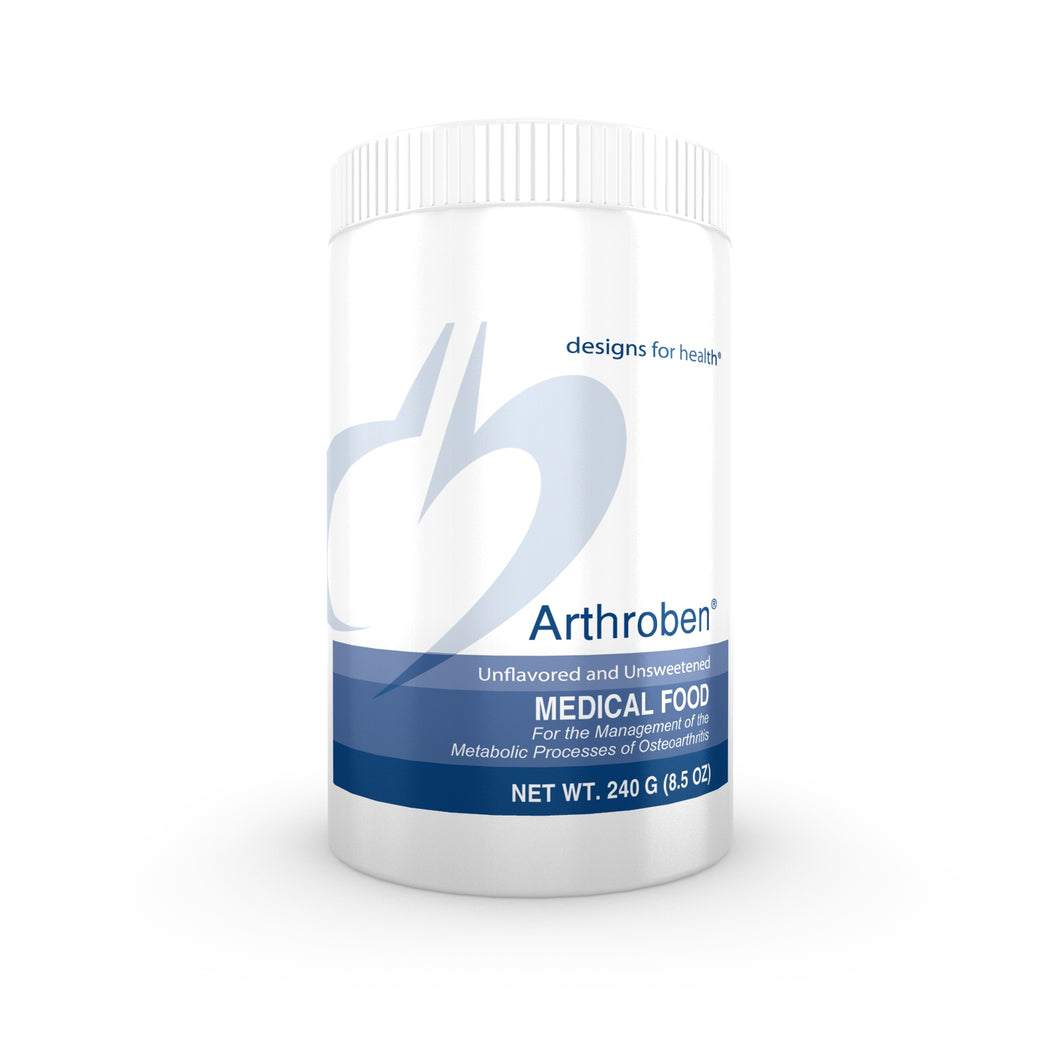 Arthroben Unflavored/Unsweetened 240 g (8.5 oz) designs for health
