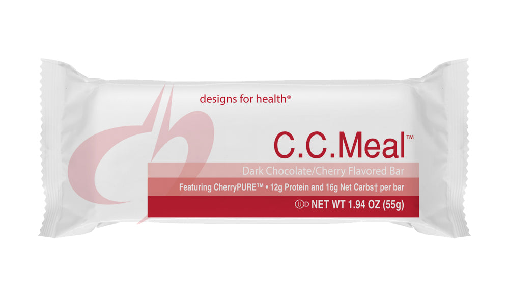 C.C Meal 1 case of 12 bars designs for health