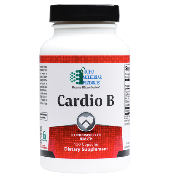 Cardio B 120 Capsules Ortho Molecular Products