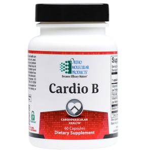 Cardio B 60 Capsules Ortho Molecular Products