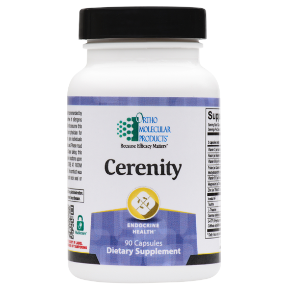 Cerenity 90 Capsules Ortho Molecular Products