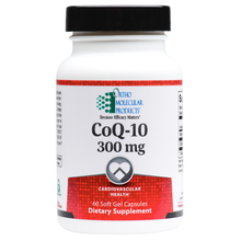 Load image into Gallery viewer, CoQ-10 300 MG 60 Soft Gels Capsules Ortho Molecular Products