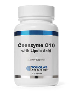 Coenzyme Q-10 with Lipoic Acid-30 Capsules-Douglas Labs