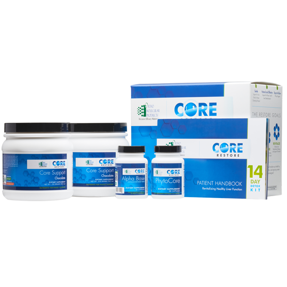 Core Restore 14-Day Kit (Chocolate) Ortho Molecular Products