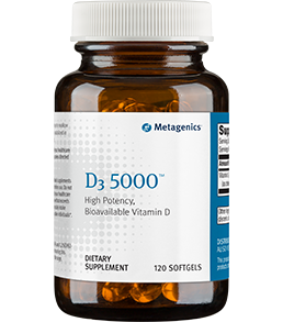 D3 5000 120 Softgels Metagenics