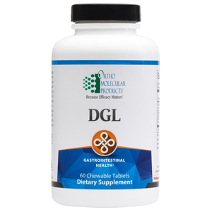 DGL 60 Chewable Tablets Ortho Molecular Products