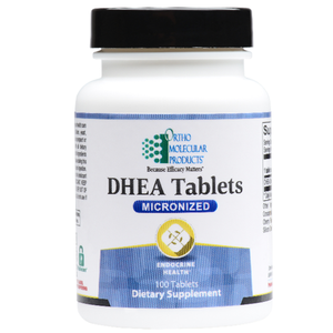 DHEA 5mg 100 Tablets Ortho Molecular Products