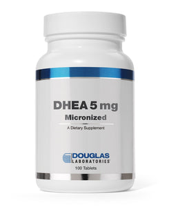 DHEA (Micronized)(5 mg.)-100 Tablets-Douglas Labs