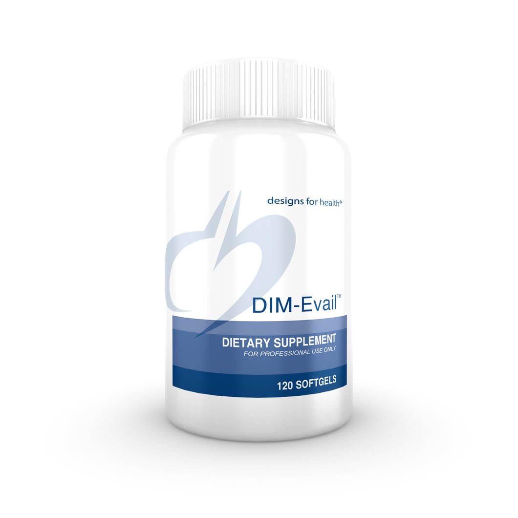 DIM-Evail 120 Softgels Designs for Health