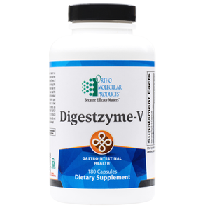 Digestzyme-V 180 Capsules Ortho Molecular Products