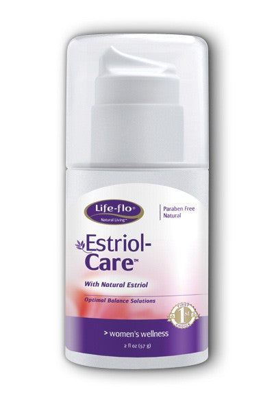 Estriol-Care-2oz with Natural Estriol-Life-flo
