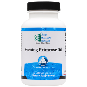 Evening Primrose Oil 90 Soft Gel Capsules Ortho Molecular Products