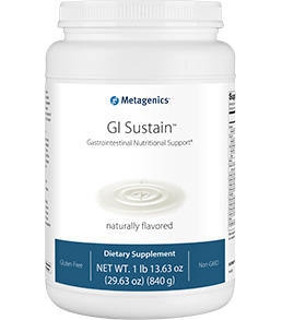 GI Sustain 29.6 oz and 14 Serving Pack Metagenics