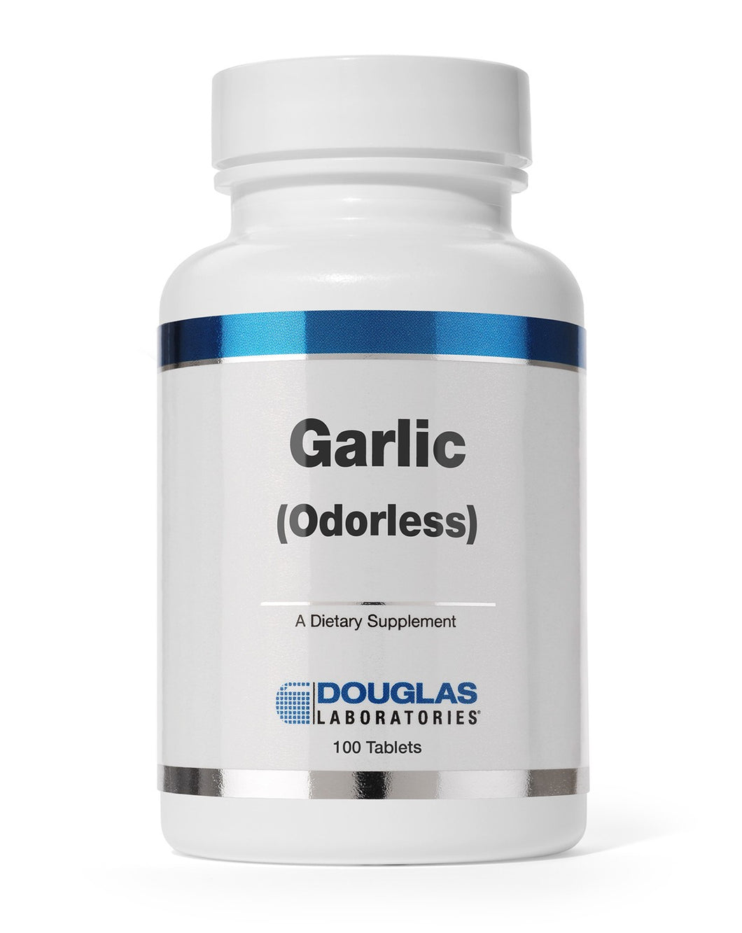 Garlic (Odorless)-100 Tablets-Douglas Labs