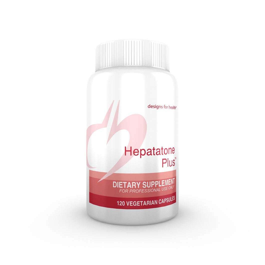 Hepatatone Plus 120 Vegetarian Capsules Designs for Health