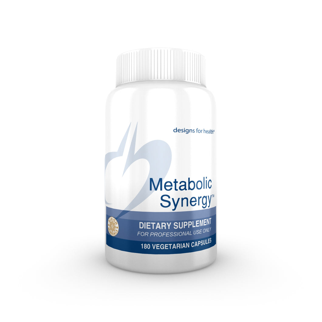Metabolic Synergy 180 Vegetarian Capsules Designs for Health