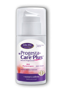 Progesta-Care Plus with Phytoestrogens-4 oz-Life-flo
