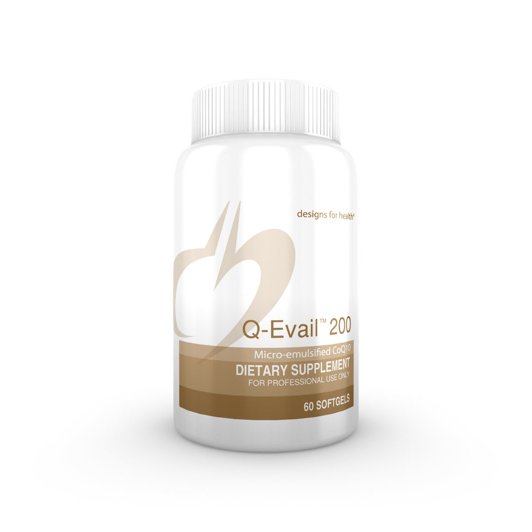 Q-Evail 200, 60 Softgels Designs for Health