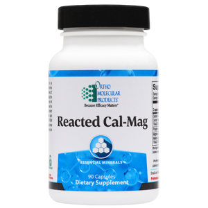 Reacted Cal-Mag 90 Capsules Ortho Molecular Products