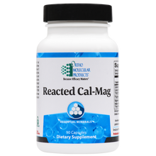 Load image into Gallery viewer, Reacted Cal-Mag 180 Capsules Ortho Molecular Products