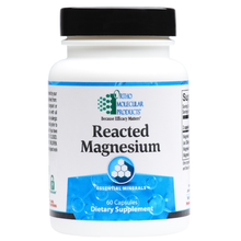 Load image into Gallery viewer, Reacted Magnesium 120 Capsules Ortho Molecular Products
