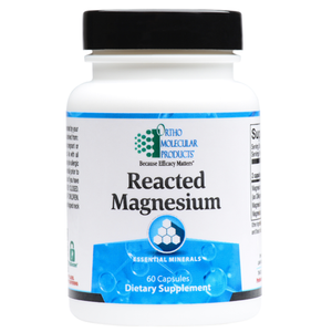 Reacted Magnesium 120 Capsules Ortho Molecular Products
