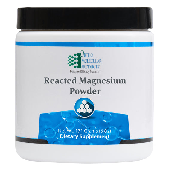 Reacted Magnesium Powder 171 Grams (6 oz) Ortho Molecular Products