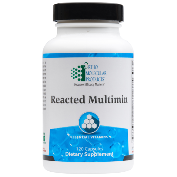 Reacted MultiMin 120 Capsules Ortho Molecular Products
