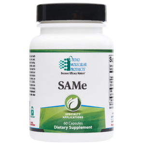 SAMe 60 Capsules Ortho Molecular Products