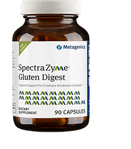 SpectraZyme Gluten Digest Dietary Suppliment 90 Capsules Metagenics