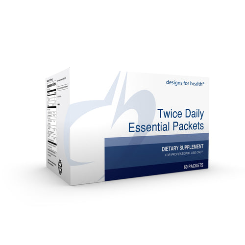 Twice Daily Essential Packets 60 packets designs for health