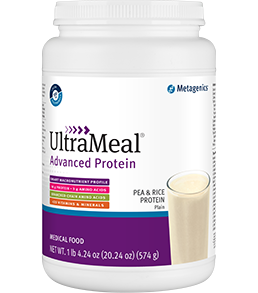 UltraMeal Advanced Protein Dutch Chocolate (14 servings) Metagenics