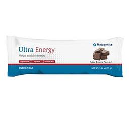 Ultra Energy Caramel Sea Salt Bar 12 bars/box Metagenics