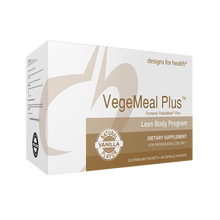 Load image into Gallery viewer, VegeMeal Plus Lean Body Program 1 Box Vanilla Designs for Health