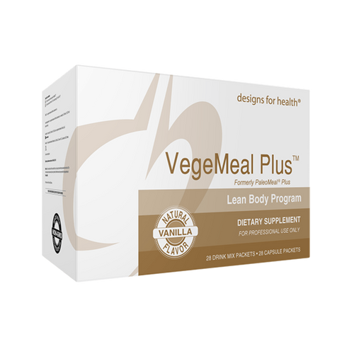 VegeMeal Plus Lean Body Program 1 Box Vanilla Designs for Health